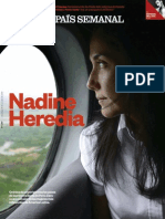 Nadine Heredia. Por Gabriela Wiener