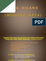Data Hilang (Missing Data)