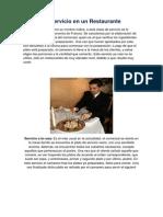 Tipos de Servicio en un Restaurante.docx