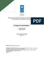 El Seguro de desempleo - Joseph Ramos & Carlos Acero (PNUD).pdf
