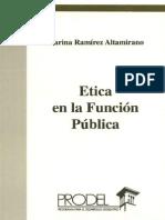 Marina Ramírez Altamirano - Ética en la Función Pública.pdf
