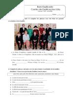 5 - Ficha de Trabalho - La Famille (1).pdf