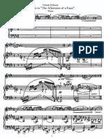 C. Debussy - 1992-94 - Prélude à l'après-midi d'un Faune (transcription for flute and piano) - score.pdf