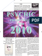 The 'X' Chronicles Newspaper - Late December / New Year's 2010 Edition
