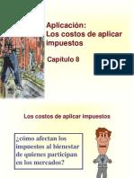 Principios de Economía, Mankiw Capítulo 8; Aplicación, Los costos de aplicar impuestos.ppt