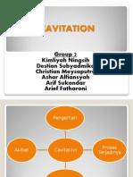 Presentation of Cavitation
