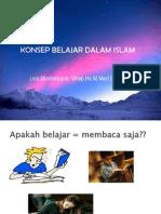 Konsep Belajar Dlm Islam LISA-1