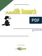 Scientific Research 1st Research
