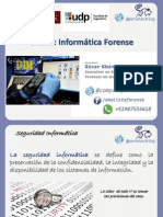 Charla Informatica Forense