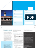UAP Area a Lighthouse Contest - Brochure and Entry Form