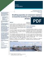 BA Compressor Explosion Maritime