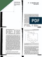 La regresión, Nivel descriptivo Sanchez.pdf