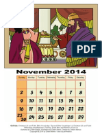 coloring page 3d old testament calendar