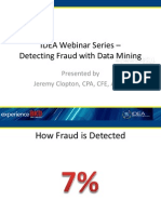 Detecting Fraud With Data Mining Slides