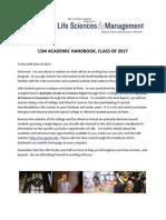 LSM Academic Handbook (2013)