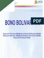 Resolucion Bono Bolivariano