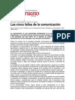 Cinco fallas de la comunicacion - Miguel Antezana.pdf