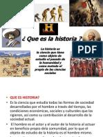 Que Es Historia