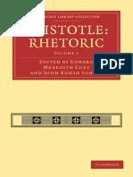 (Cambridge Library Collection - Classics 1) Edward Meredith Cope (editor), John Edwin Sandys (editor)-Aristotle_ Rhetoric, Volume 1 (Cambridge Library Collection - Classics)-Cambridge University Press.pdf