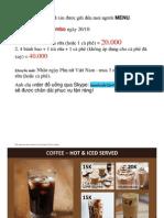 SmartCafe Menu
