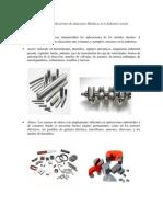 Ejemplos de Aplicaciones de aleaciones Metalicas en la Industria Actual.docx