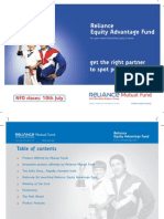 Reliance Equity Advantage Fund Presentation