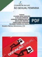 transtorno seual feminino grupo Valdemir 3o termo fama.ppt