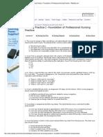 Nursing Practice I -Foundation of Professional Nursing Practice - RNpedia (1)