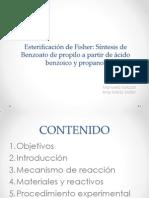 Esterificación de Fisher (expo).pptx