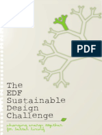 EDF Sustainable design challenge 2011