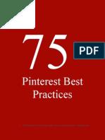 75 Best Practices Pinterest