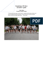 Organizing a 5K Race (Revised)