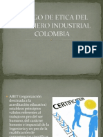 CODIGO DE ETICA DEL INGENIERO INDUSTRIAL - COLOMBIA.pptx