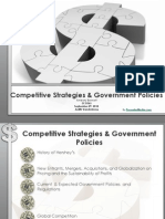 ECO 365 Competitive Strategies & Government Policies