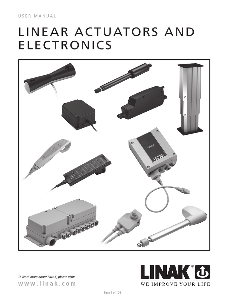 Linak Actuator Wiring Diagram Free Download 24 Volt Linear Actuators And Electronics User Manual Eng Pdf At