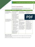Support Program 2-Supervisors Responsibilities