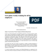 Govt Plan weekly Training for All Its Employees.29393446