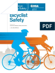 Bicycle safety report