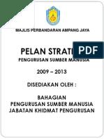 Pelan Strategik Sumber Manusia 2009-2013