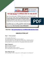 Amazon Action List