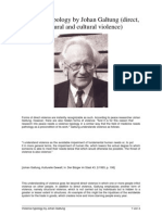 Galtung Typology of Violence-1