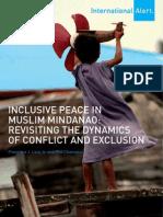 Lara Inclusive Peace in Muslim Mindanao