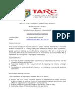 Coursework Spec BBDM3133