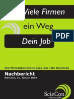 ScieCon München 2009 - Nachbericht