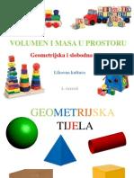 Geometrijska i slobodna tijela