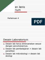 Desain Dan Jenis Laboratorium