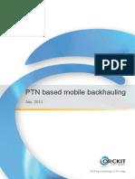 Mobile Backhauling Using MPLS