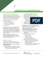Preventative Maintenance Final