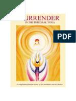 Surrender In Integral Yoga