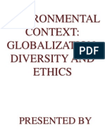 globalization, diversity and ethics